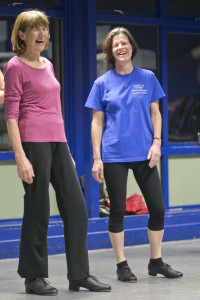 Liz & Angela smiling